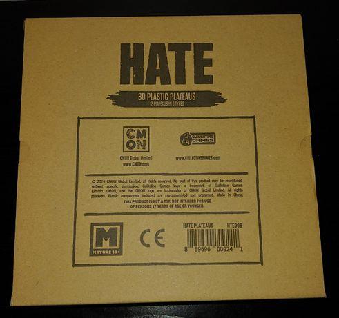 Hate 3D Plastic Plateaus CMON gra planszowa