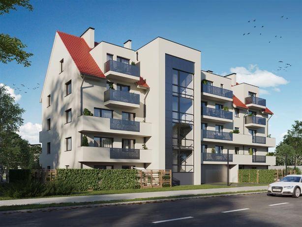 A.1. apartament 37,62 m2 parter ogródek winda Bielańska Dobry start