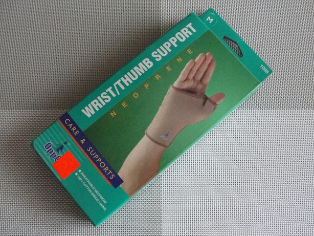 Stabilizator nadgarstka z ujęciem kciuka nowy