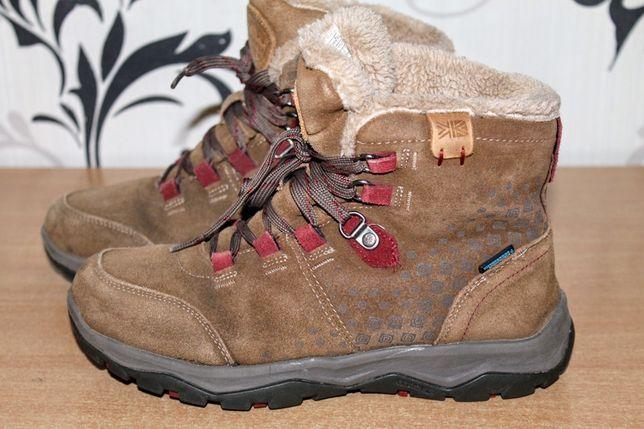 Зимние ботинки замшевые karrimor 37p