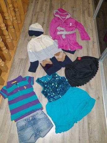 Пакет фирменных вещей на девочку одним лотом, 5-7 лет