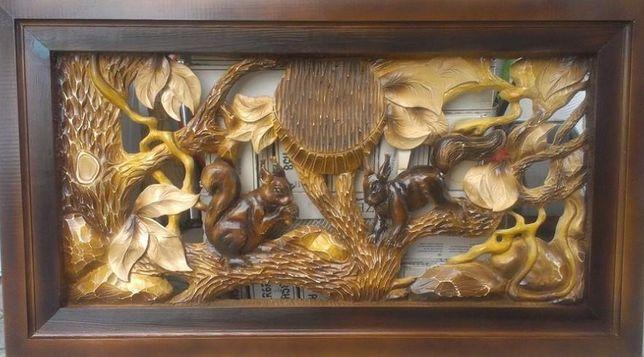 Різьблені вироби з деревини