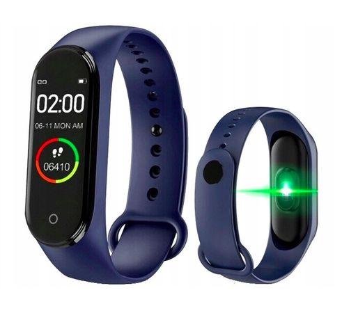 M4 Opaska Sportowa Smartwatch SmartBand Zegarek / Niebieski