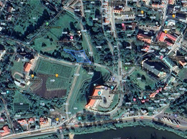 Wynajem Działka Sandomierz Stare Miasto Centrum Sandomierza 13a