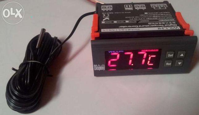 Controladora de Temperatura Digital com Sensor