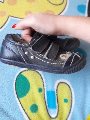 Кожанные кроссовки 17 см. по стельке
