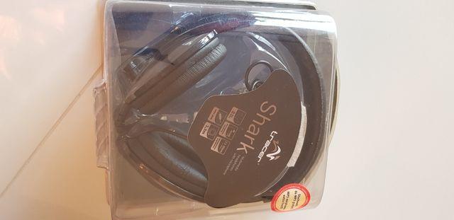 Słuchawki z mikrofonem Tracer Shark