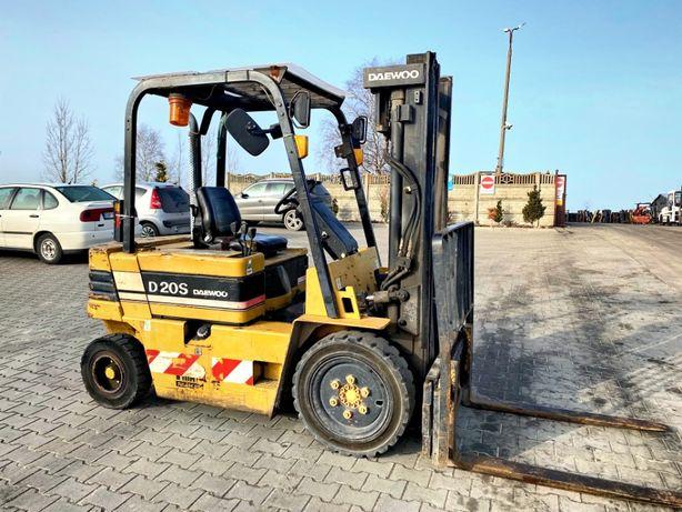 wózek widłowy diesel DAEWOO D20S-2 3.20m 2000kg 4700mtg nissan toyota