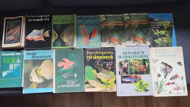 Książki akwarystyczne 13 sztuk