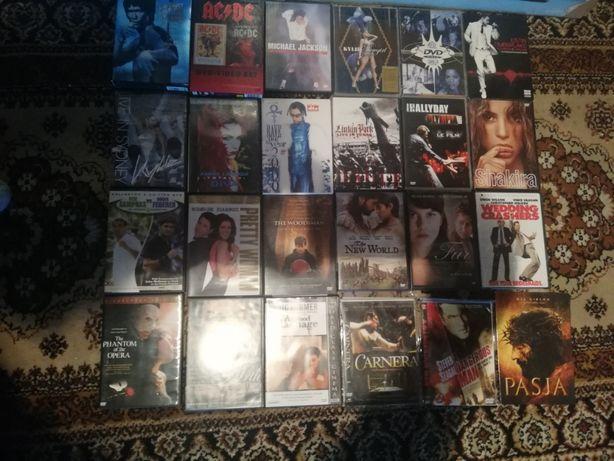 Płyty DVD Filmy Muzyka Yoga