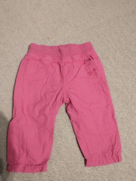 spodnie ocieplane cool club smyk 68