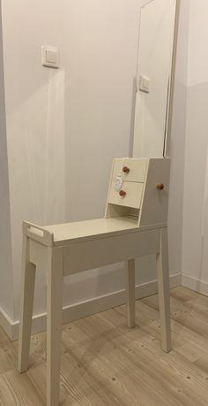 Toaletka biała Vox Magnolia wąska