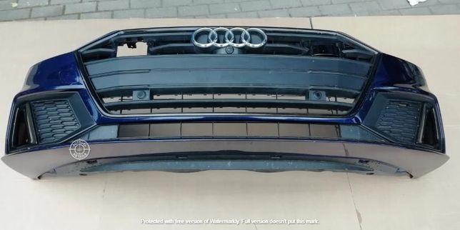 Передний бампер Audi A7 4K S-LINE универсал (6 датчиков парковки)