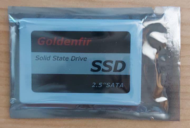 SSD Диск Goldenfir 256 Gb НОВЫЙ ! Донецк - изображение 1