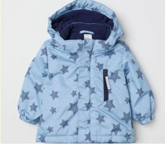 Новая. 86 р. (18мес) Курточка НМ на флисе. Деми.