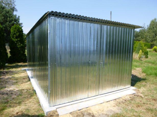 Garaż blaszany 3x5 na BUDOWĘ blaszak budowa GARAŻE BLASZAKI na budowę