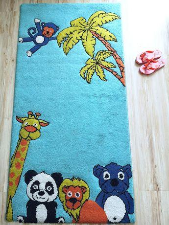 Dywan dywanik dla dzieci 150x77cm miękki, wyprany