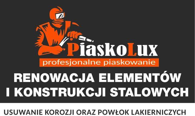 PiaskoLux Piaskowanie elementów i konstrukcji stalowych , stali