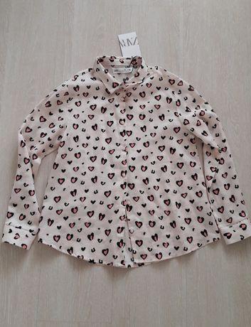 Новая рубашка Zara сорочка для школьницы