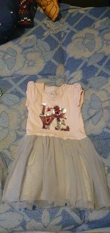 Sukienka używana bawełniana rozmiar 110