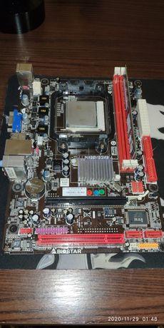 Комплект материнка biostar n68s3b+Athlon x3 450+2gb ddr3