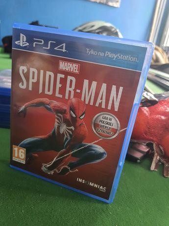 Ps4 Spider man PlayStation 4 marvel polska wersja językowa