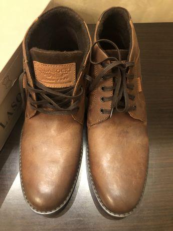 Ботинки (осень-зима) кожа Lasocki.Польша.47 размер.стелька 31 см.
