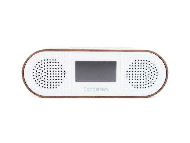 Radio Sandstrom S-DBTW18 Bluetooth FM DAB DREWNO; Gwarancja 13msc. FV.