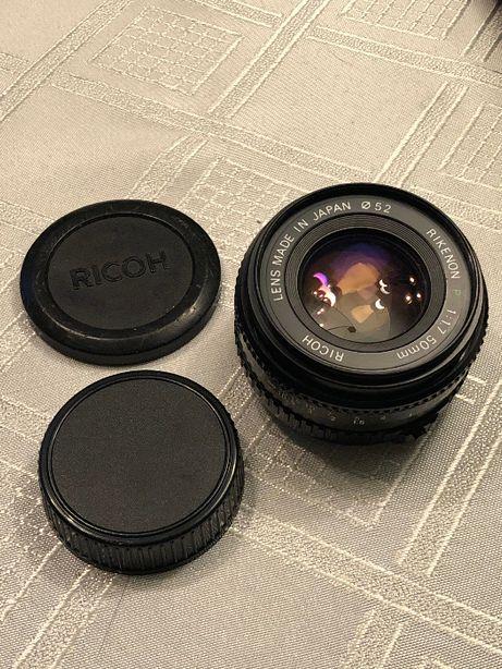 Obiektyw Ricoh Rikenon P 1.7/50mm PENTAX PK