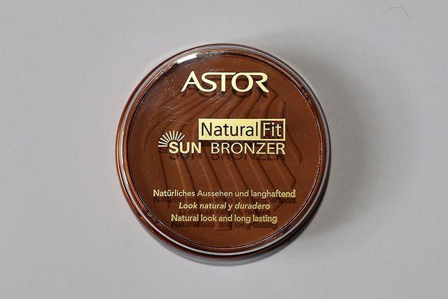 Puder brązujący Astor Natural Fit Sun Bronzer 003 terra sun