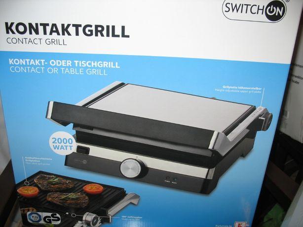 nowy grill elektryczny,2lata gwarancji 2000wat solidny mocny,stek