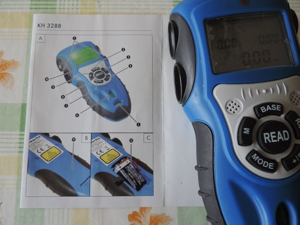 Distanciómetro / Telémetro por Laser