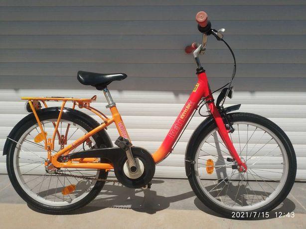 алюм детский велосипед 20 планетарка Shimano Nexus 3 скорости ГЕРМАНИЯ