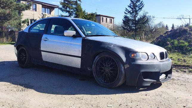 BMW 3 E46 Compact Wide Body Poszerzenia Nadkoli Drift Daily