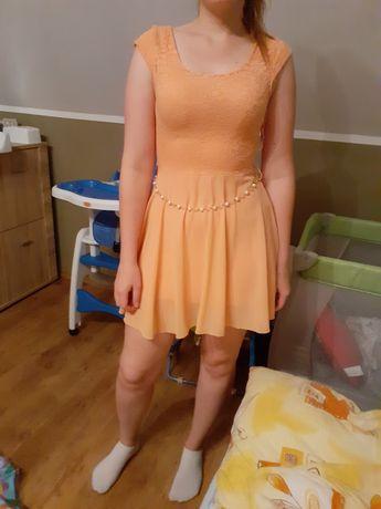 Sukienka łososiowa Rozm. S/M