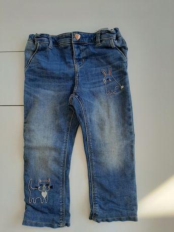 Sprzedam jeansy hm 98
