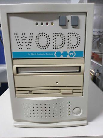 Leitor e gravador de discos ópticos de grande capacidade - Retro
