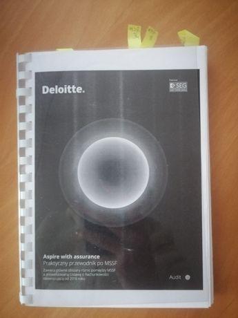 Książka Deloitte Praktyczny przewodnik po MSSF