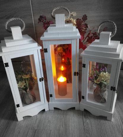 Lampiony-Lampion piękne mega Duże- szkło Nowość niska cena