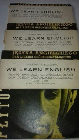 Język angielski (J. Smólska, A. Zawadzka) - płyty winylowe
