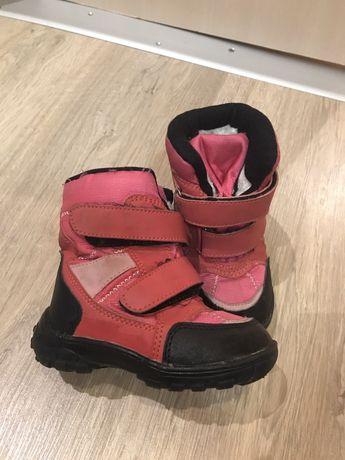 Зимние ботиночки 23 размер