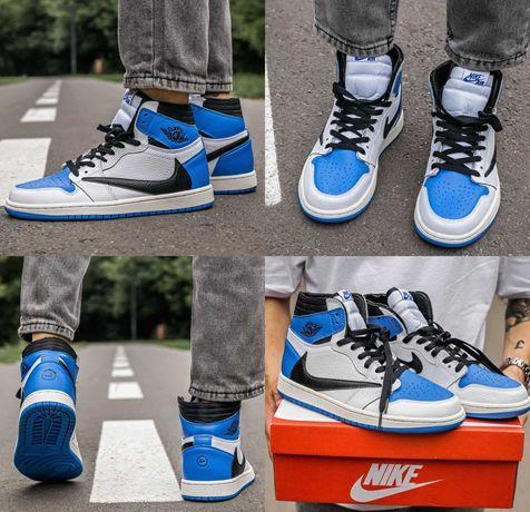 Мужские кроссовки Nike Air Jordan 1 Retro High Fragment 40-45 Топ