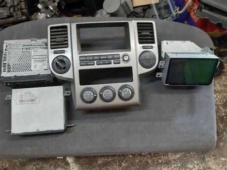 Radio cd navi panel klimatyzacji zestaw nissan x-trial t30