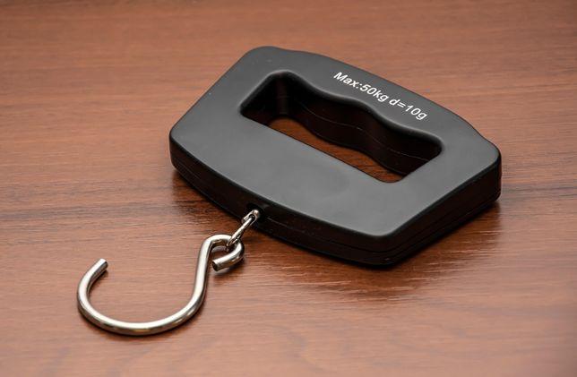 Waga walizkowa ręczna hakowa elektroniczna 50kg 10g precyzyjna