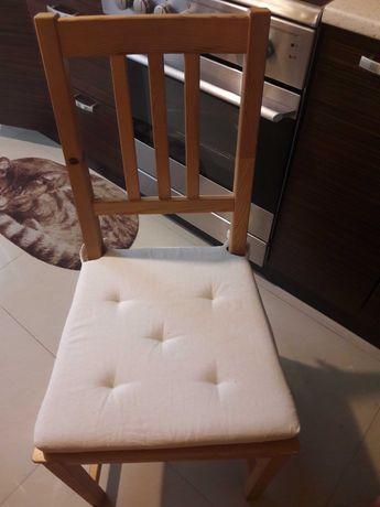 Poduszki na krzeslo Ikea kremowe 2 szt REZERWACJA DO 20.00