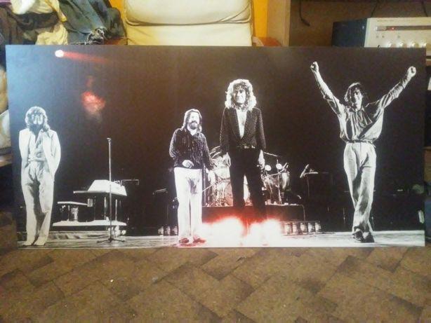 Plakat zespołu Led Zeppelin poster, duży, sztywny plakat ścienny