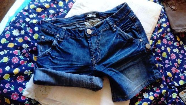 Spodenki jeansowe Deep jak nowe