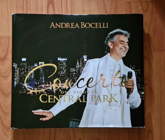 Andrea Bocelli Concerto One Night In Central Park 2 cds + 2 dvds