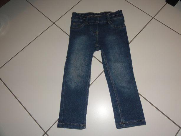 Spodnie jeansowe LUPILU rozmiar 92