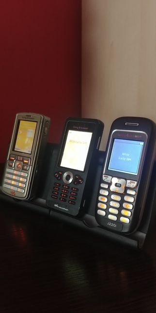 Zestaw kultowych telefonów Sony Ericsson Sprawne w db stanie SPRAWDŻ